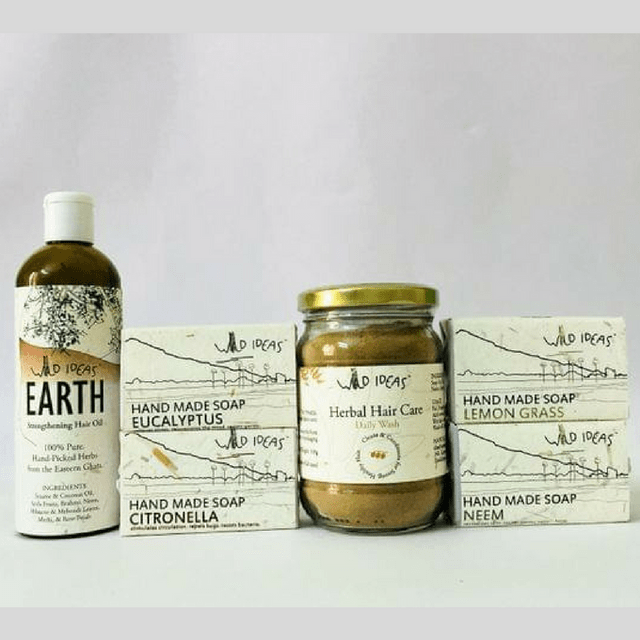 Wild Ideas Herbal Body and Hair Care Package