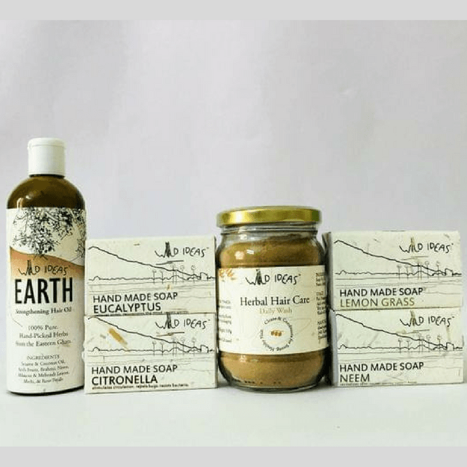 Wild Ideas Soaps and Hair Care Pack