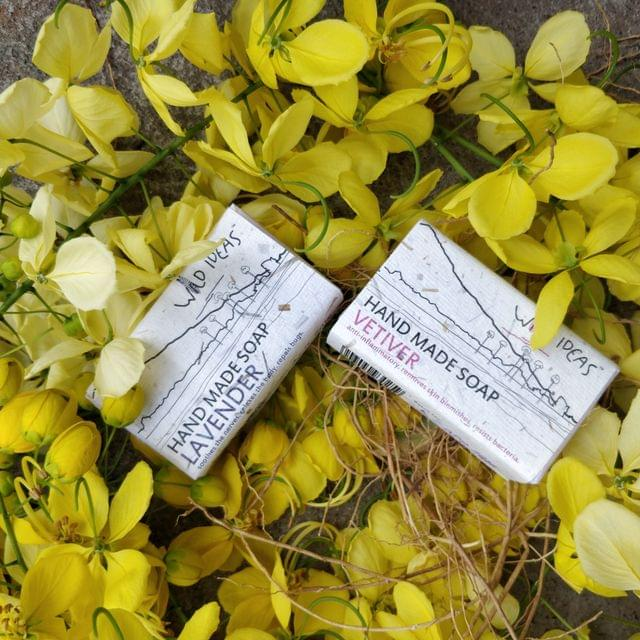 Wild Ideas Soaps Lavender and Vetiver Combo