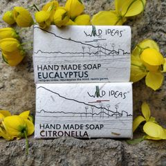 Wild Ideas Soaps Citronella and Eucalyptus Combo