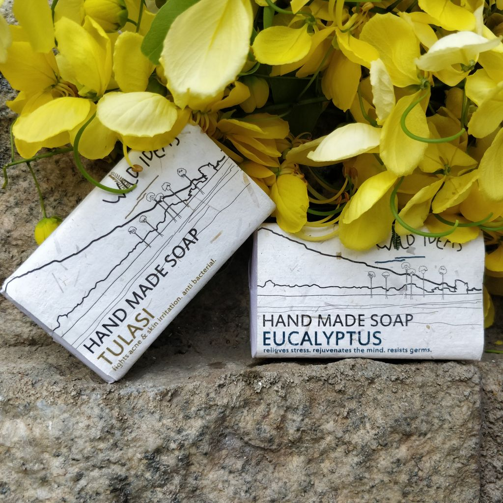 Wild Ideas Soaps Eucalyptus and Tulasi Combo