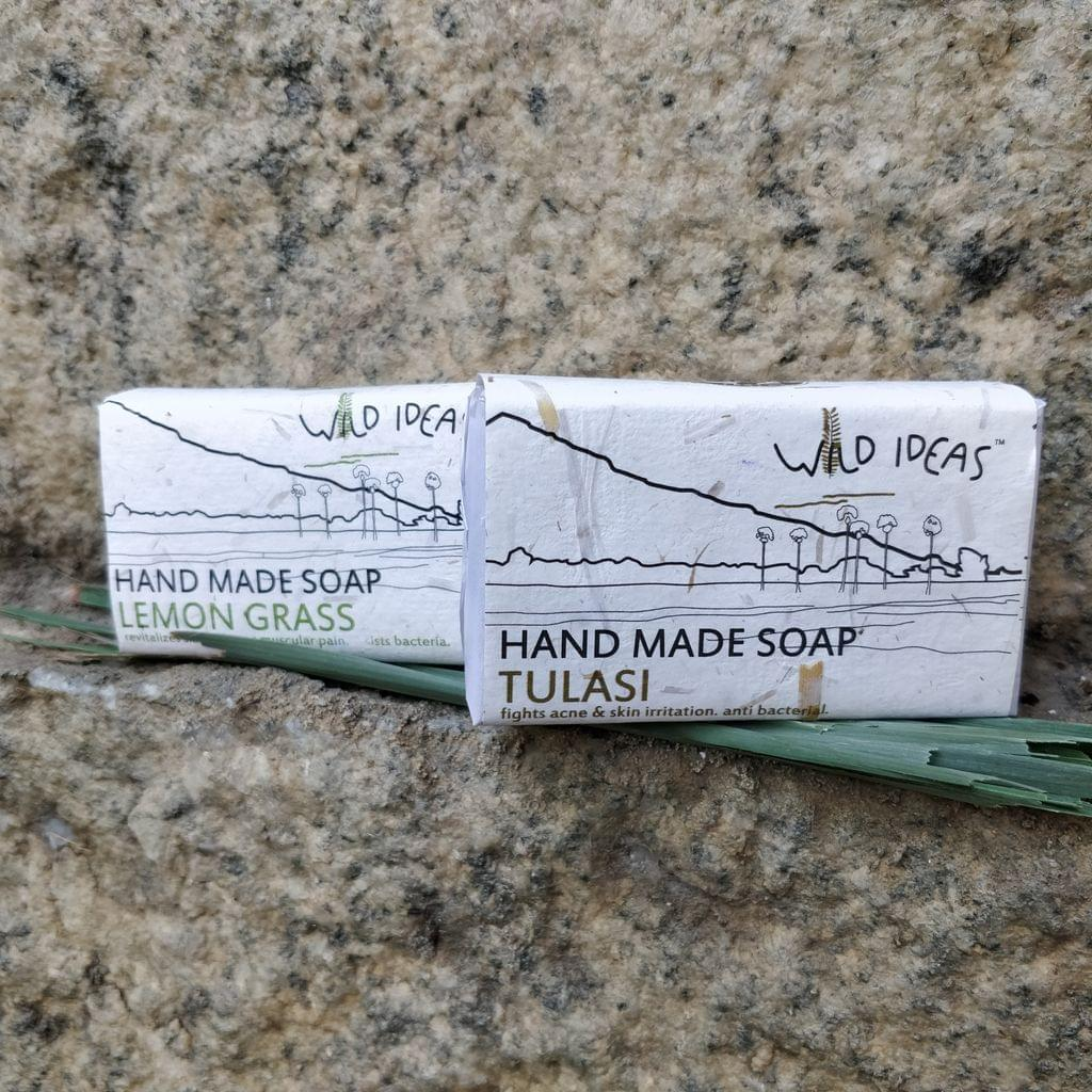 Wild Ideas Soaps Lemongrass and Tulasi Combo