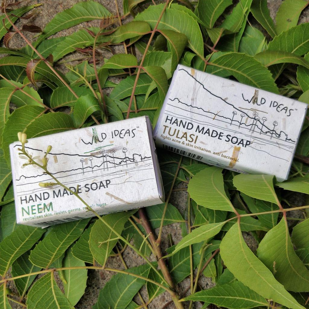 Wild Ideas Soaps Neem and Tulasi Combo