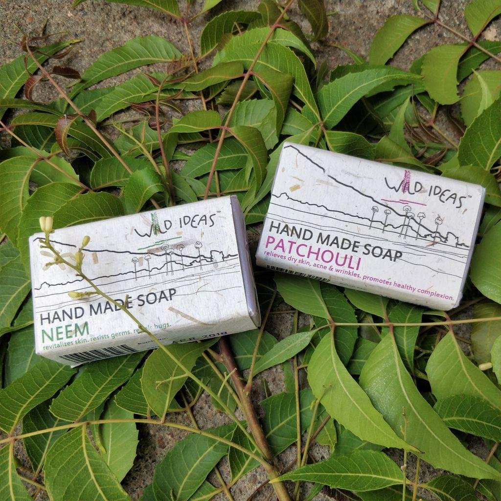 Wild Ideas Soaps Neem and Patchouli Combo