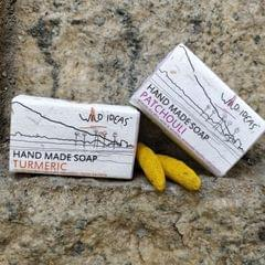 Wild Ideas Soaps Turmeric and Patchouli Combo