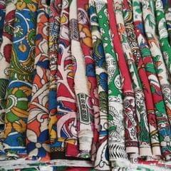 Aarika Kalamkari Blouse Fabric Pack (Dasavatharam)