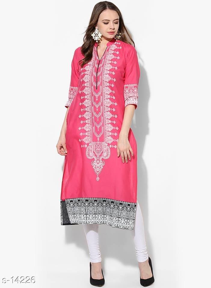 Aarika Cotton Block Printed Kurta