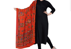 Kadaiveedhi Cotton Banjara Art Work Dupatta
