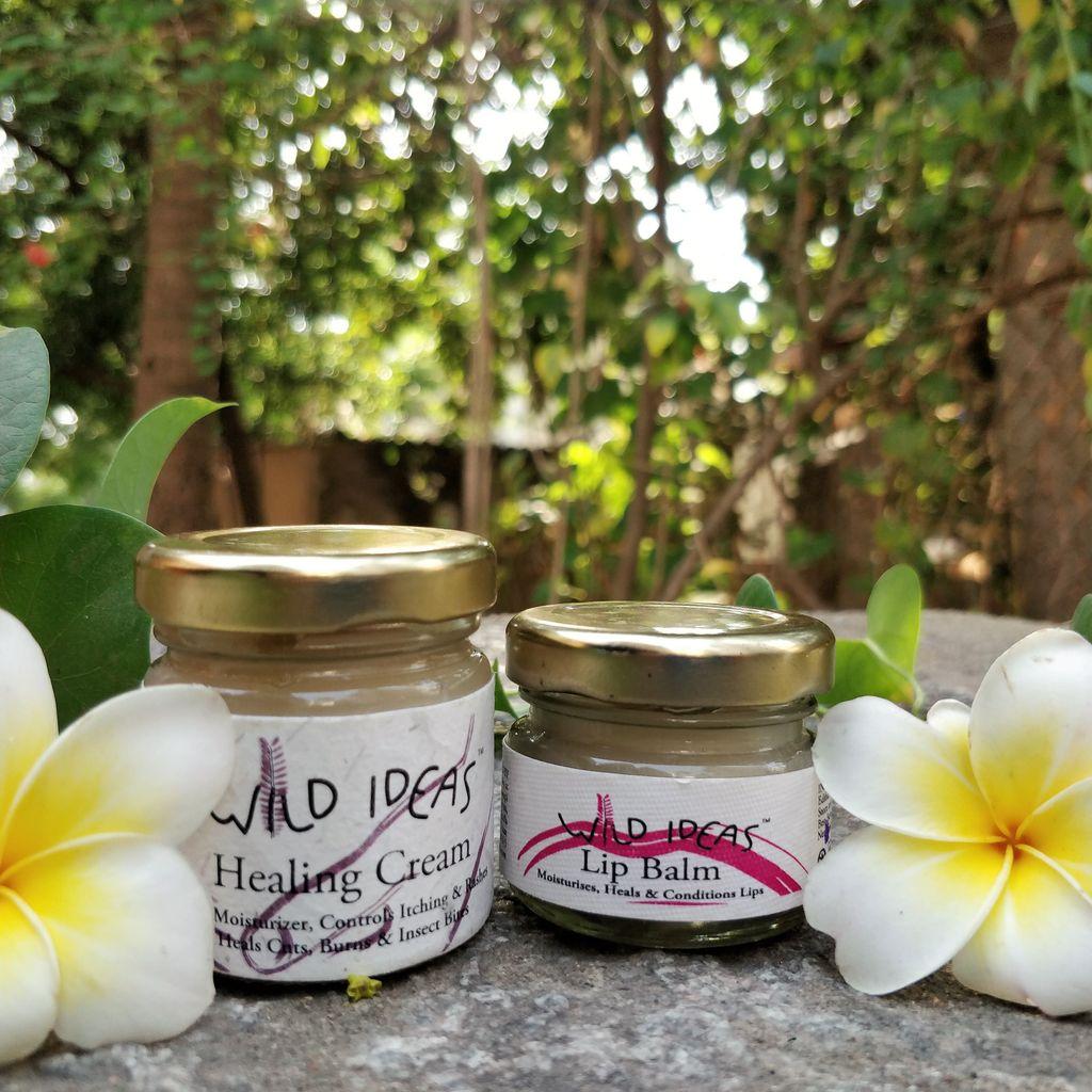 Wild Ideas Lip Balm and Healing Cream