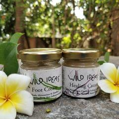 Wild Ideas Healing Cream and Foot Cream