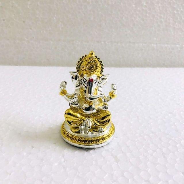 Smile Decors Two Tone Finish Ganesha Idol