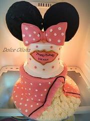 Dolce Olivia Minnie Theme Cake (3kgs)