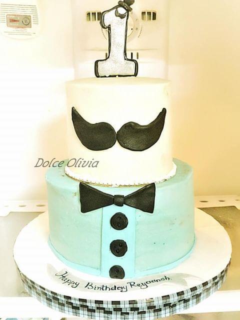 Dolce Olivia Little Man Theme Cake (3kgs)