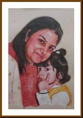 Kadaiveedhi Arts - Mom and Child