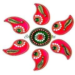 Smile Decors Acrylic Mini Rangoli - Starts From Pack of 25