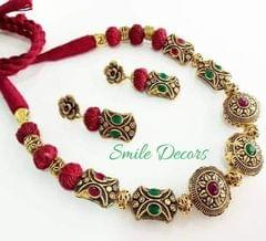 Smile Decors Victorian Beads Jewellery Set