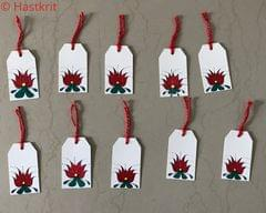 Hastkrit Lotus Gift Tag