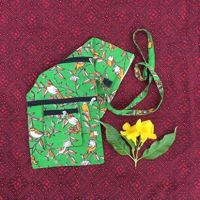 Aarika Cotton Handy Sling Bag
