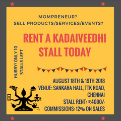 Rent A Kadaiveedhi Stall Today