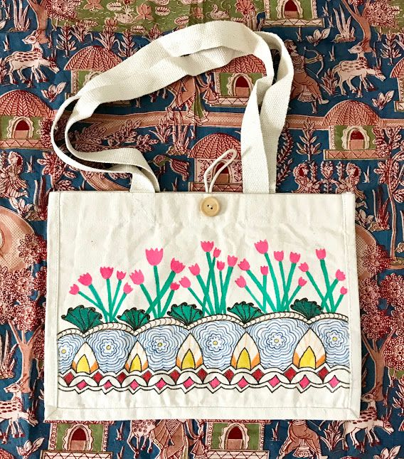 Hastkrit Cloth Shopping Bag