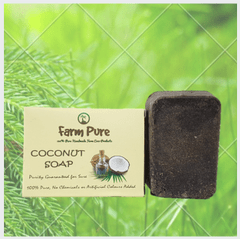 Little Bitty Pure Cocount Oil  Red Sandal Soap 100g