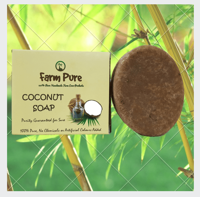 Little Bitty Pure Cocount Oil Hair Reducer Soap 100g