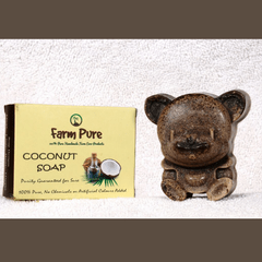 Little Bitty Pure Cocount Oil  Nalangu Mavu Soap 100g