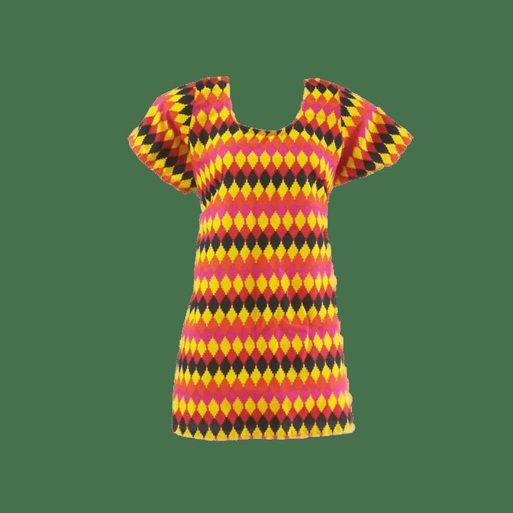 Aarika Orange Cotton Short Top