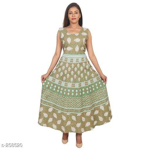 Aarika Green Jaipuri Cotton Kurti