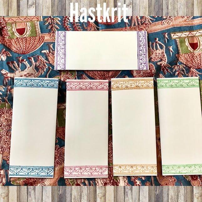Hastkrit Border Design Shagun Envelopes