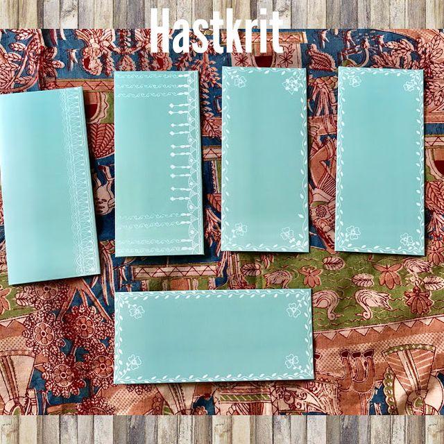 Hastkrit Floral Shagun Envelopes