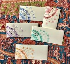 Hastkrit Corner Design Shagun Envelopes