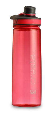 All Time Cresta Twist Cap Opening Sports Travel Polycarbonate Water Bottle 750ml Pink W6026 Pink