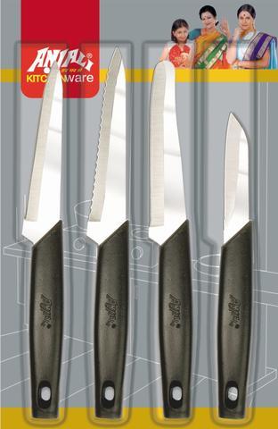 Anjali 4Pcs Sharpline Knife Set KC21
