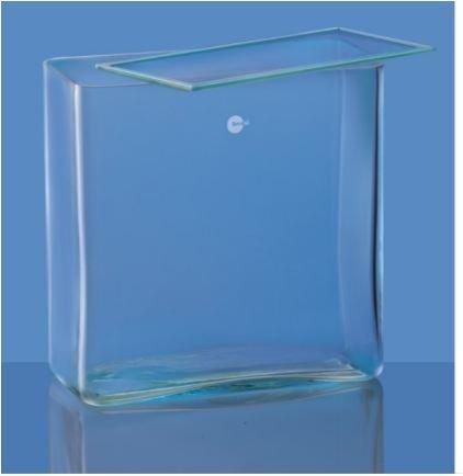Borosil 6910M42 Rectangular Glass Jar
