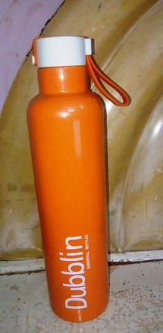 Dubblin Boom HOT & COLD Duro Steel Vaccum Insulated Water Bottle 900 ml Orange Boomorange900