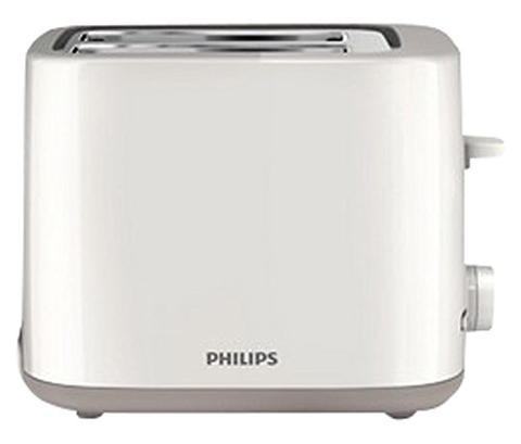 Philips Daily Collection HD2595/09 800 Watt 2 Slot Toaster White