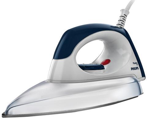 Philips GC135 1100-Watt without Coating Dry Iron (Grey)
