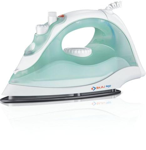 Bajaj majesty MX 7 steam iron green color 1200 watt