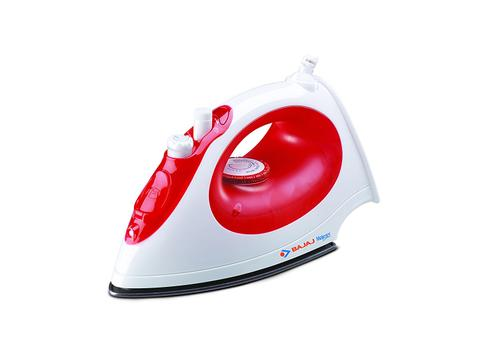 Bajaj Majesty MX15 1200 Watt Steam Iron Red White