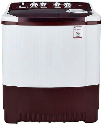 LG 7.0 kg Semi-Automatic Top Loading Washing Machine (P8053R3SA, Burgundy)