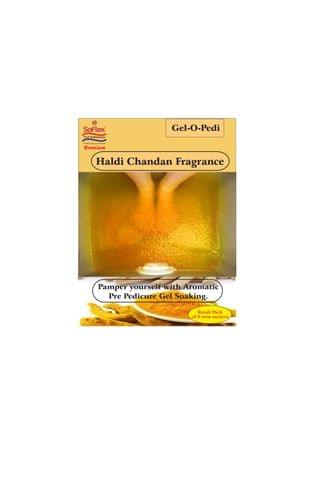 Soflex Premium Gel-O-Pedi Retail pack - Haldi Chandan By MaxxGallery SFLX/18/39