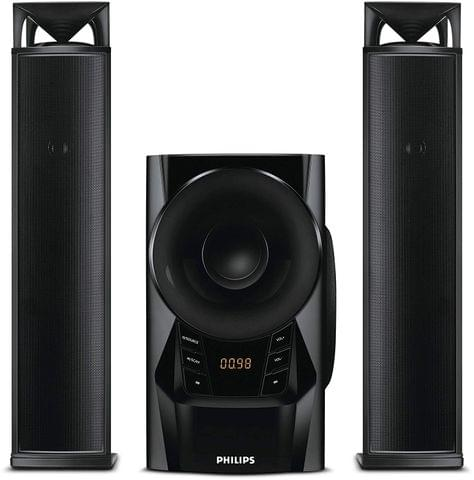 Philips MMS2160B/94 2.1 Channel Convertible Multimedia Speaker System