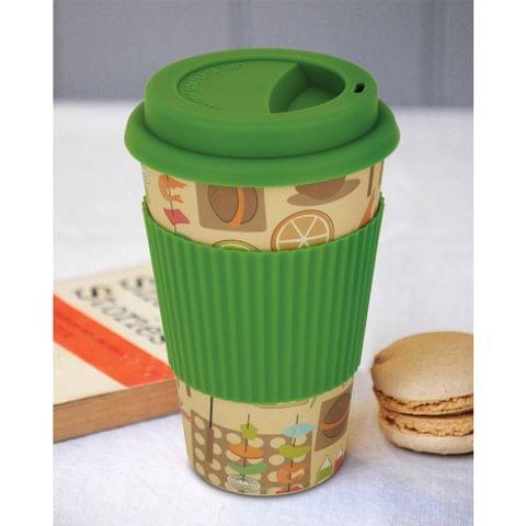 Freelance Bamboo Fibre Travel Mug, 400ml, Multicolour (EMJ008) FTC-EMJ008