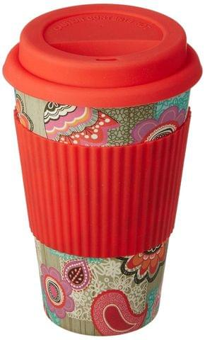 Freelance Bamboo Fibre Travel Mug, 400ml, Multicolour (EMJ009) FTC-EMJ009