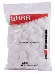 Gubb USA Cotton Balls White 100 Pieces For Face Cleansing & Makeup Removal GUBB-006