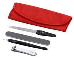 Gubb USA Manicure Tools Kit 4 in 1- Nail Filer, Nail Cutter, Nail Buffer Shiner & Cuticle Remover GUBB-097