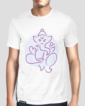 Ganesha Round Neck T-Shirt