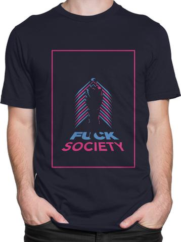 F*CK Society Round Neck T-Shirt
