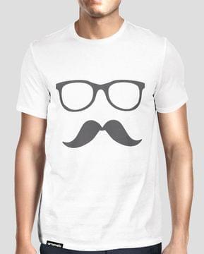 Hipster Round Neck T-Shirt